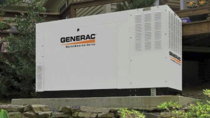 Generac generator installed in Homer GA by Meehan Electrical Services.